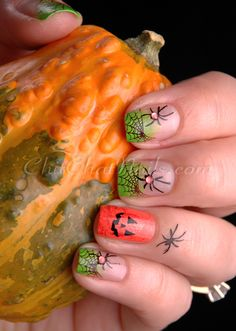 Halloween Manicure #nails