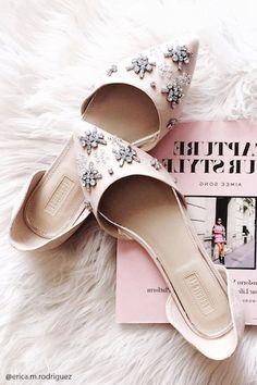 Flats Con Strass - Mujer - Zapatos - Flats - 2000230332 - Forever 21 EU Español