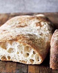 Authentic Ciabatta Recipe | Carol Field (This is the best ciabatta recipe we've ever made. Tastes as authentic as what you'll find in Italy. Also one of our most popular recipes.)