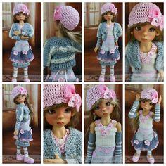 OOAK Handmade Outfit for Kaye Wiggs MSD BJD