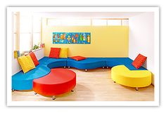 Inventive Playthings for Inquisitive Minds - Padded Elements / Sofas / Room Decoration