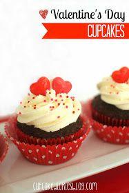 Cupcake Diaries: Valentine's Day Cupcakes