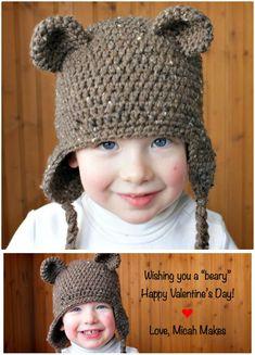 Crochet Teddy Bear Hat – Free Pattern - 50 Free Crochet Teddy Bear Patterns - DIY & Crafts