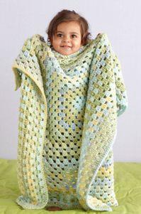 Crochet Limeade                                                Granny Throw