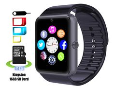 Smart Watch MRS LONG YG8 Bluetooth Sweatproof Wrist Smart Watch with Touch Screen / Handsfree Call / Camera /anti-lost /Call reminder for Android(Black). Compatibility - Samsung,Google Pixel/Pixel XL,HTC, Sony, LG, HUAWEI, ZTE(Attention for iphone 7, iPhone 6, iPhone 6 plus, iPhone 5, iPhone 5s , iPhone 4, iPhone 4s, this APP can' t be installed by iOS, Our watch can only receive and make call after connect with iphone. Other functions are unavailable now for iphone!). Main Functions - It...