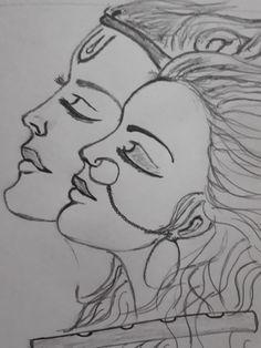 Easy Drawings Sketches, Girl Drawing Sketches, Dark Art Drawings, Pencil Art Drawings, Sketch Painting, Cute Drawings, Random Drawings, Flower Art Drawing, Doodle Art Drawing