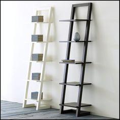 Furniture:Ikea White Ladder Shelf Ikea White Ladder Shelf Narrow Bookcase