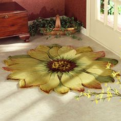 Myra Flower Shaped Rug
