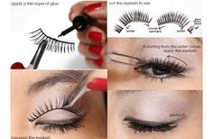 How-to-Apply-Fake-Eyelashes