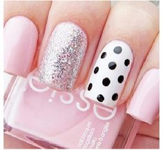 Polka dots and glitter!!!