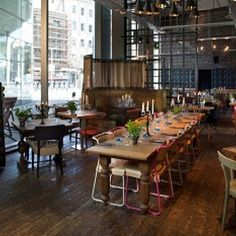 Bankside - The refinery bar – photos of the refinery bar, London