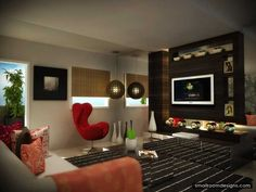 Easy Contemporary Home Design   Http://www.smallroomdesigns.com/small Home  Ideas/easy Contemporary Home Design.html | Smallroomdesigns | Pinterest ...