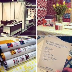 love the patterns I love list for surtex