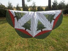 Quilted Country Tree Skirt 42 By Krissyde On Etsy