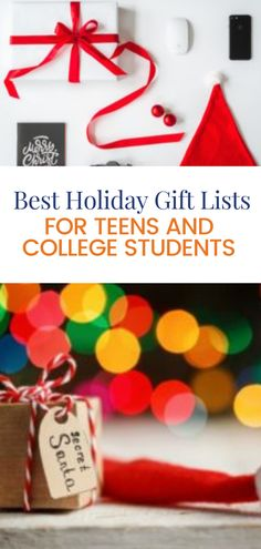 Here are our gift lists for parents who are shopping for teens and college students. We hope you find just what you are looking for to make this holiday season a little brighter for your son or daughter. From stocking stuffers to popular Christmas gifts at every price point, we have you covered!
