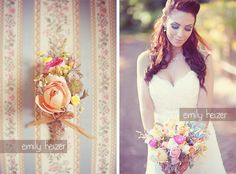 County Bohemian Chic Wedding with Pastels. Bare Ranch, by Emily Heizer