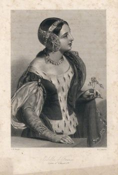 Isabella of France (1292-1358), Queen of Edward II