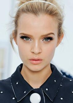 Makeup for louis Vuitton spring is to diiiiiie forrrrr