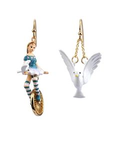Les Belles et les bêtes earrings