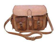 Appareil photo sac à bandoulière sac de cuir neuf de Casami sur DaWanda.com