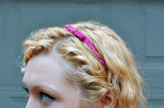 DIY Ribbon Headband