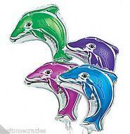 Dolphin Mylar Foil Balloons