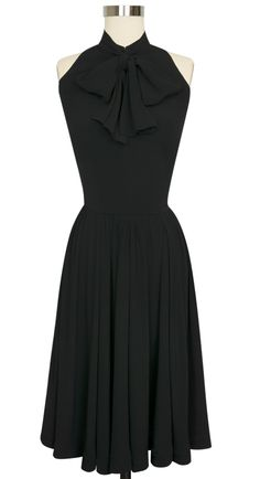 Everyone's favorite Trashy Diva Streetcar Dress is now available in Black Rayon Crepe de Chine!