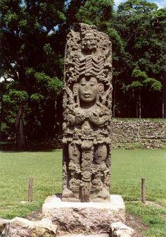 Stelae at Copan Tikal, Honduras, Architecture Artists, Maya Civilization, Mayan Cities, Temple Ruins, Mesoamerican, Ancient Aliens, Ancient History