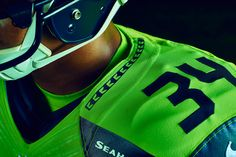 NFL Color Rush: Seahawks Introduce Action Green Uniform | Seattle Seahawks | The Seahawks join the NFL Color Rush initiative in 2016, with the club unveiling an Action Green alternate uniform that it will wear during its 'Thursday Night Football' game against the Los Angeles Rams on Dec. 15 at CenturyLink Field.