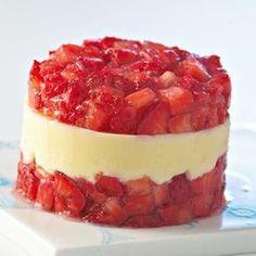 Tartare de fraises miam miam sm