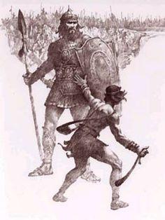 david and goliath costume - Google Search