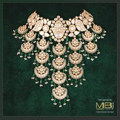 On the lookout to enhance the glam factor in your life?  #TheHouseofMBj #MBjIndia #MBj #Necklace #Polkidiamonds #Jewellery #Luxury