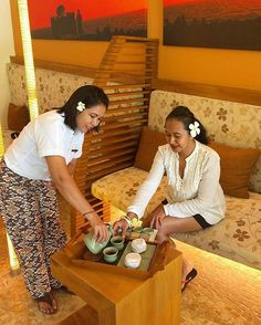 WEBSTA @ ayodyabali - @nancyaryasubawa indulge herself with Spa Sampler treatment at Ayodya Spa by Mandara. @mandaraspaasia #ayodyaspa #ayodyaexperience #spa #wellness
