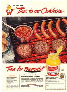 R.T. French Company – French's Mustard Hot Dan & Recipes (1951)