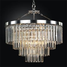 Wind Chime Crystal Chandelier