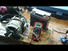 Cómo conectar un motor de lavadora II, - YouTube