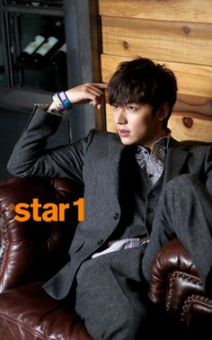 Lee Min Ho - @Stacy Stone Stone Stone Wilkins Magazine December Issue '12
