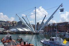 Port de Gênes en famille - Voyage Italie avec enfant