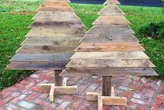 DIY Pallet Little Pair of Trees
