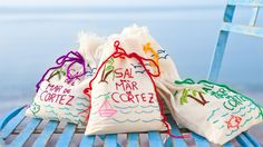 Gourmet Sea Salt in Keepsake Bag, by Sal de Mar. Available at ahalife.com