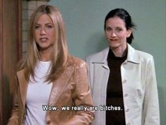 Monica and Rachel - best friend goals, haha Tv: Friends, Friends Moments, Friends Tv Show, Monica Friends, Friends Phoebe, Friends Scenes, Friends Cast, Tv Show Quotes, Film Quotes