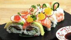 How To Make Rainbow Rolls Recipe (Sushi)#playlist-urlname=how-to-make-sushi-rice