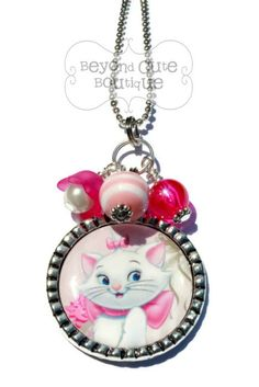 ARISTOCATS MARIE NECKLACE by BeyondCuteBoutique on Etsy // disney gift keepsake