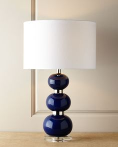 Shelby+Navy+Table+Lamp+at+Horchow.