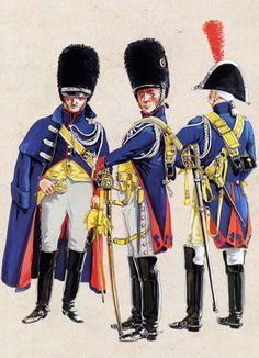 Gendarmeria di élite a cavallo della guardia imperiale francese