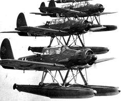 Germany's Arado Ar 196 floatplane