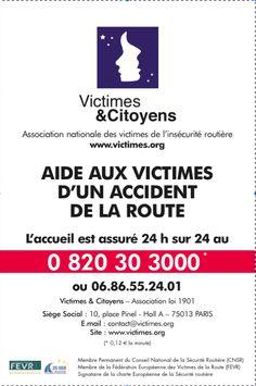 Brochure association aide aux victimes
