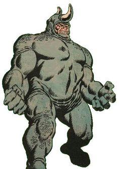 Marvel Comics Rhino | Rhino propiedad de Marvel Comics
