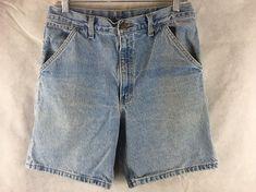 Carhartt Carpenter Jean Shorts Men's Size 32 Denim Blue 100% Cotton USA Made #Carhartt #Denim