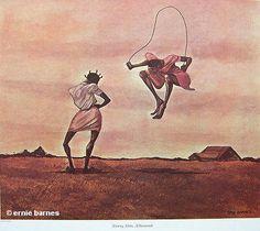 '99...a hundred' by Ernie Barnes